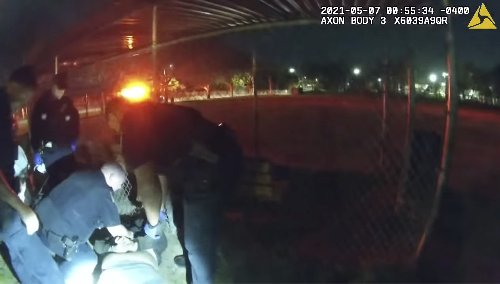 Rhode Island investigating death of man handcuffed by police