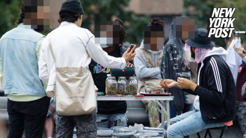 Dealers openly peddle pot in NYC park teeming with families, tourists