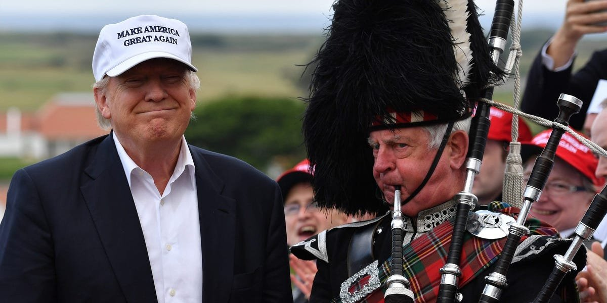 Trump's foreign golf resorts lose millions of dollars every year