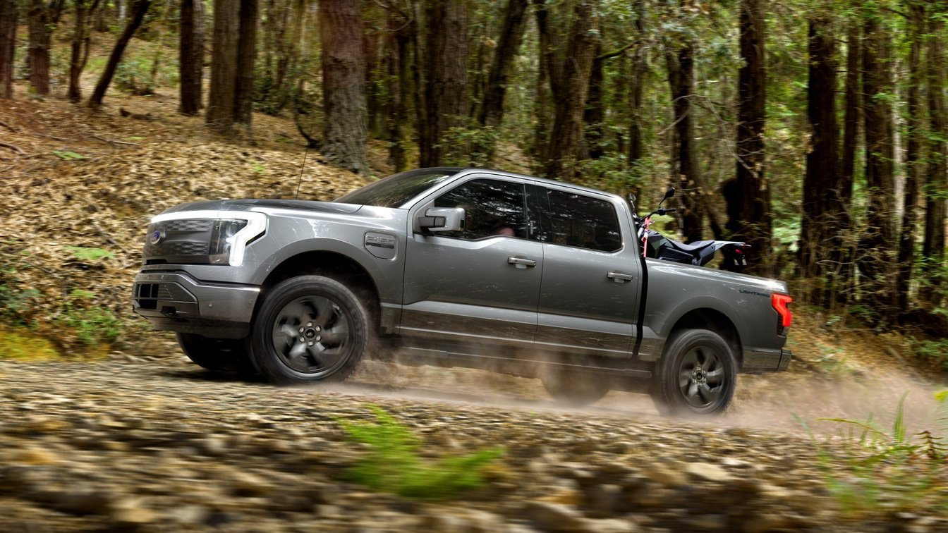 First Look: 2022 Ford F-150 Lightning Electric Truck