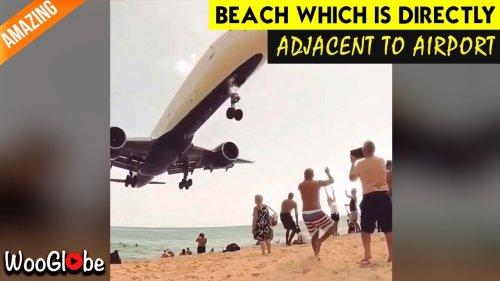 'Arab Man Goes Viral for Attempting Risky Aeroplane Jump'