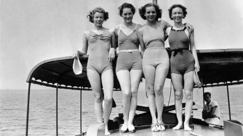 Great-great-Grandma's Swimsuit Was a Hot Mess — Plus More Fashion History