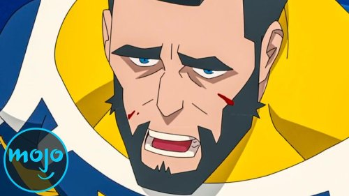 Top 10 Darkest Superhero Cartoon Moments Ever