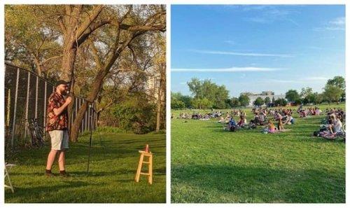 Tu peux assister à des shows d'humour 100% gratuits dans ces 5 parcs à Montréal