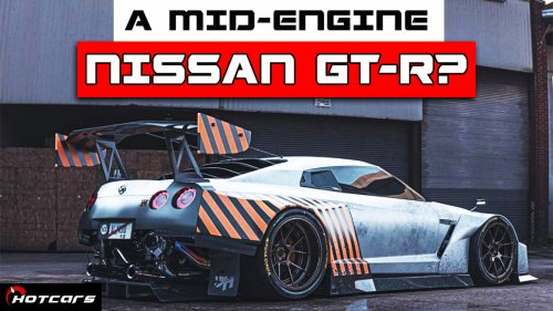 What Does A Mid-Engine Nissan R35 GT-R Look Like?