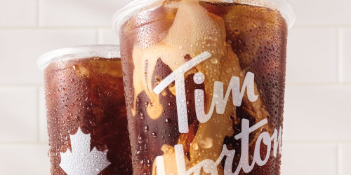 Tim Hortons Just Unveiled Its New Cold Brew & Here's What It Tastes Like