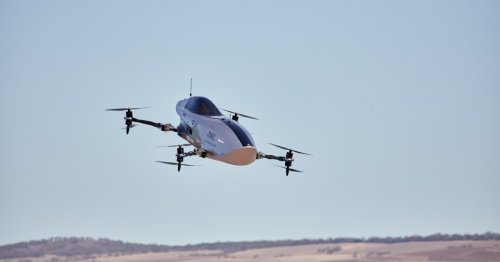 Flying car racing is coming