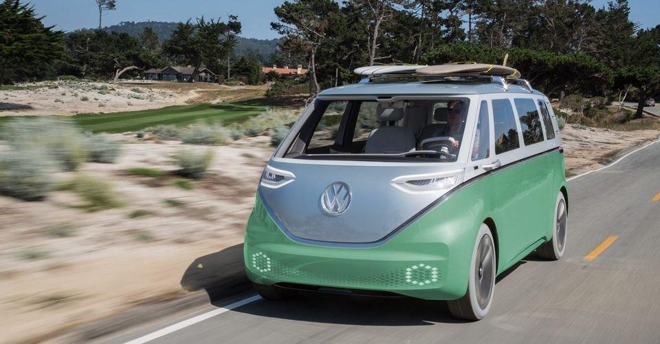 Here's Why We Can't Wait for The VW I.D. Buzz Microbus