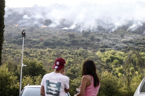 Hundreds are evacuated as tinderbox Spain tackles wildfires