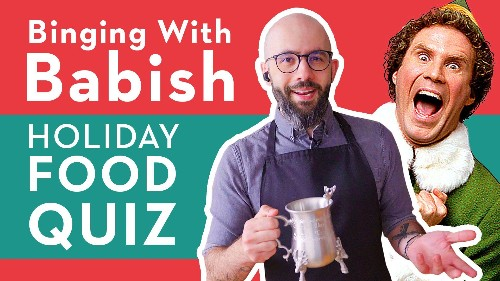 Binging With Babish Shares His Opinions On Iconic Christmas Foods