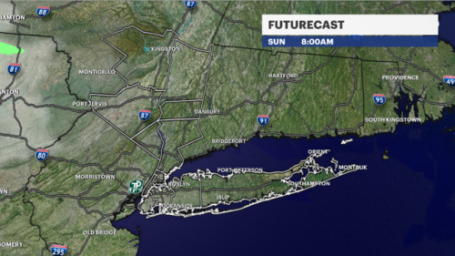 Sunny skies, high temperatures for Father's Day in New York City