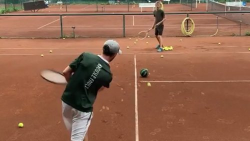 It's Like Tennis, Only Riskier And Much Harder!