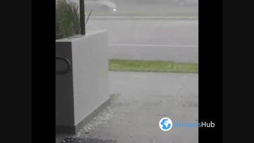 Apocalypse Hail Storm Smashes Sydney, Australia