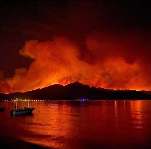 La Terre en feu !