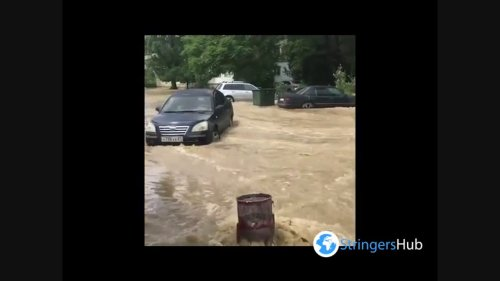 Crimea: Massive flooding hits Kerch after heavy rains, state of emergency declared