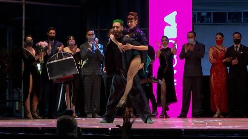 Two Argentine couples win 2021 Buenos Aires Tango World Cup
