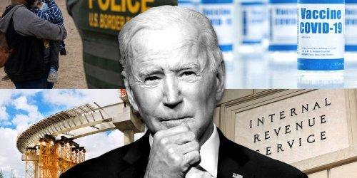 Joe Biden's first 100 days in office — how did he do?