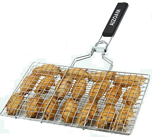 Grilling basket for fish and vegetables