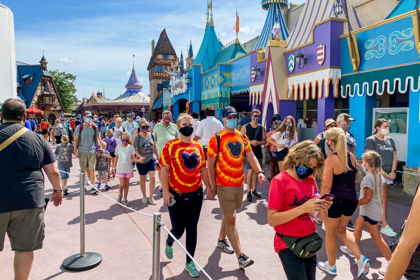 Theme Park Fans Rejoice: Parks Are Reopening and Mask Mandates Are Being Lifted