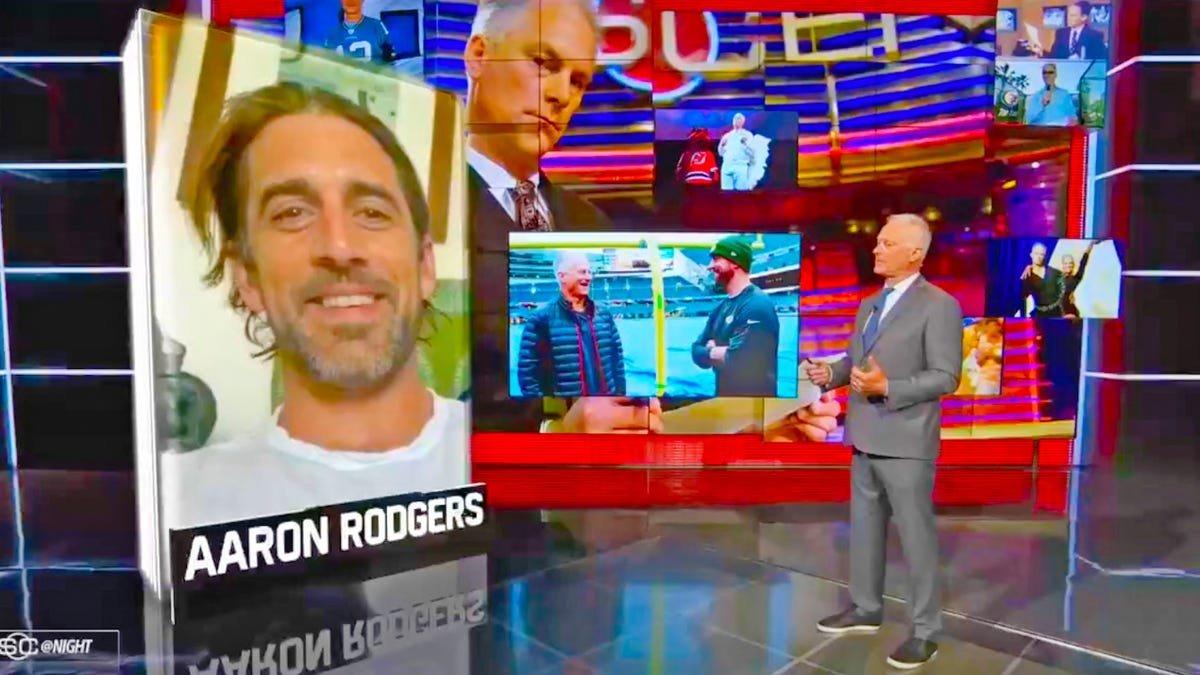 Aaron Rodgers Addresses Rumored Trade Demand