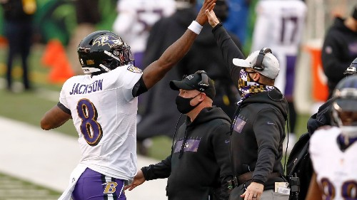 Ravens' Harbaugh disagree with critics that find faults in their passing attack | VIDEO