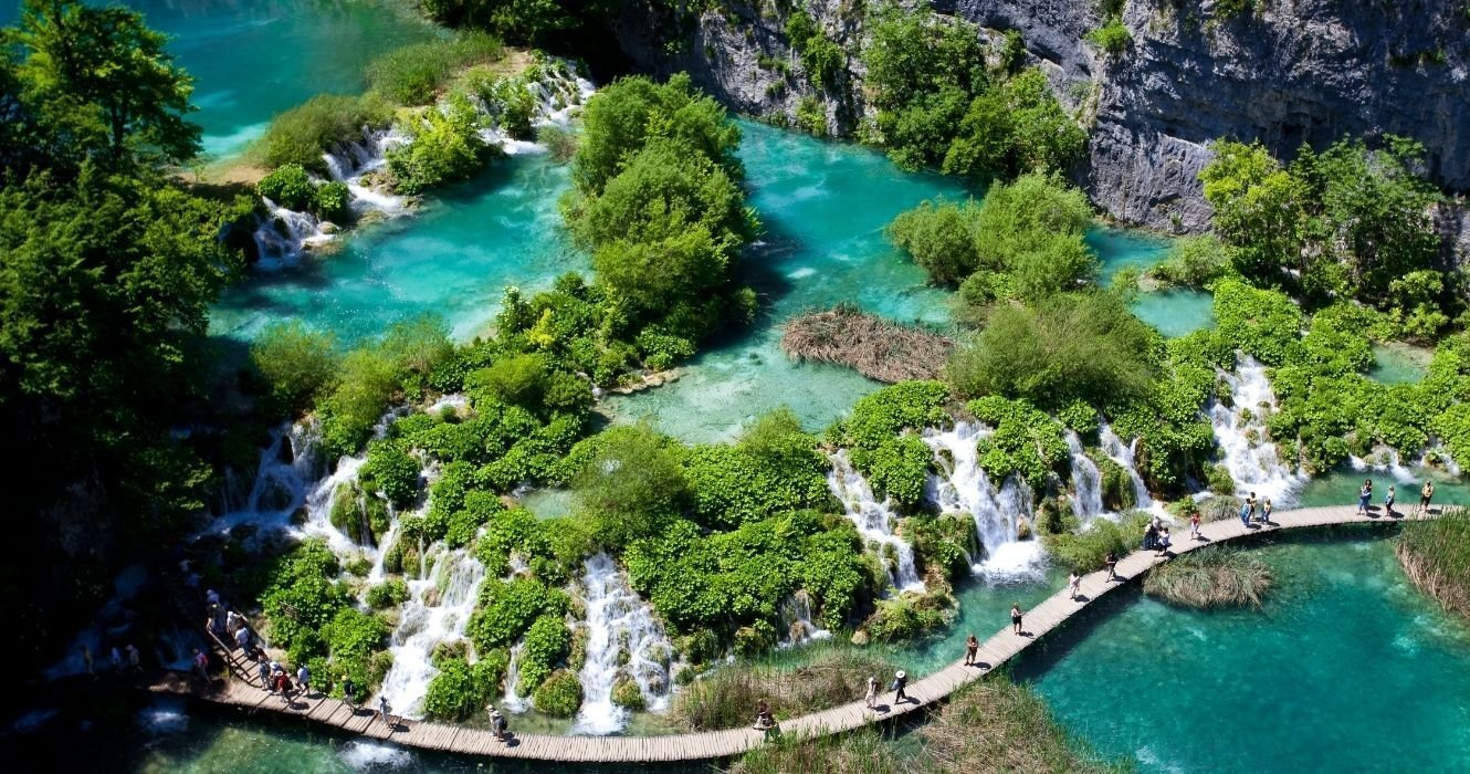 You Can't Swim In Plitvice Lakes, But Close By National Park Is Just As Amazing!