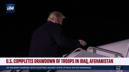 US Completes Drawdown of Troops in Iraq, Afghanistan