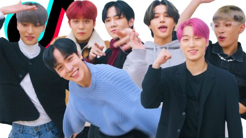 K-Pop Group ATEEZ Takes On Our TikTok Challenge Challenge! | Cosmopolitan
