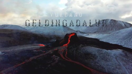 'Drone Footage of Volcano Eruption in Iceland | Geldingadalir'