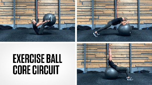 Exercise Ball Core Circuit