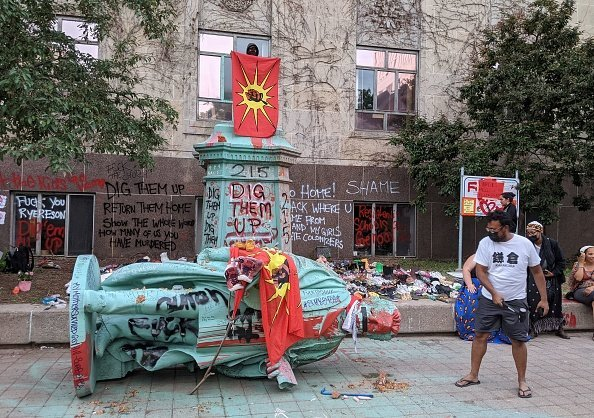 Statues and Monuments Targeted by Activists, Protestors