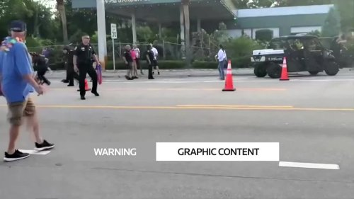 One dead after driver hits crowd at Florida Pride parade