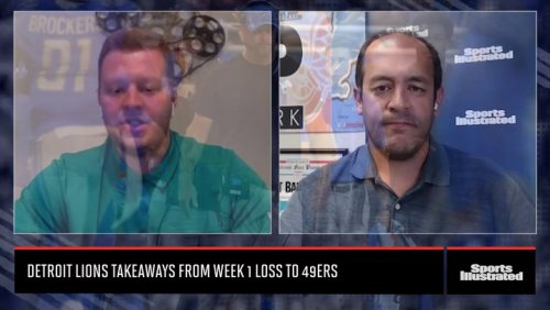 Detroit Lions Takeaways From Week 1 Loss