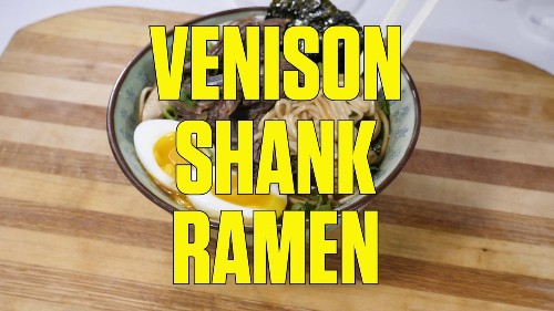 How to Make Venison Rame