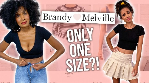 Investigating Brandy Melville's New Sizing?! *one size fits most?!*