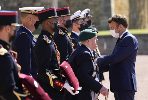 Sealed with a kiss: Macron revives France's cheeky embrace