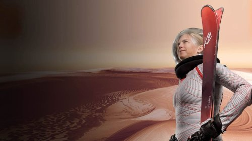 What if You Could Ski on Mars?