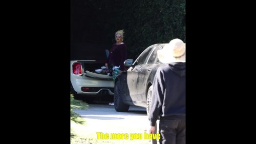 Dude asks Beverly Hill mansion owners what they do for a living
