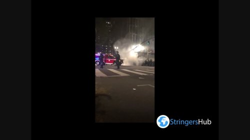 US: Riot Erupts In Portland Following Lents Park Police Shooting