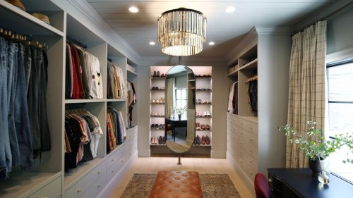 Store your clothes stylishly with these wardrobe ideas