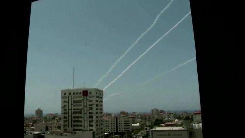 Hamas, Israel trade blows as unrest ignites Gaza