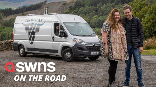 Professional couple sell £150k 'dream' house to travel around Scotland in a van