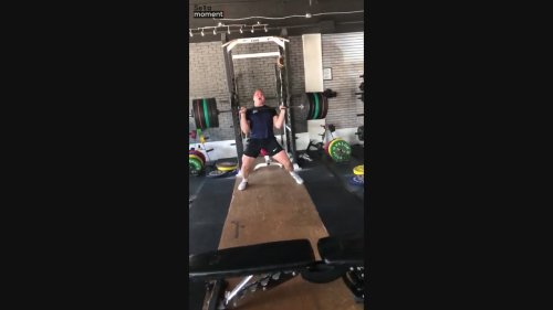 Weightlifter Goes Insane After Setting Record