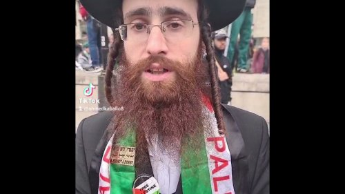 Passionate Jewish Orthodox Condemns in Defence of Palestine