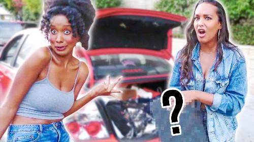 Best Friends Go Through Each Other's CARS?!