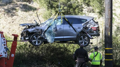 Crash Investigators Obtain 'Black Box' From Vehicle Of Tiger Woods