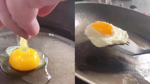 ''Perfect Little' Hack to Deal with Non-Stick Pan that Sticks'