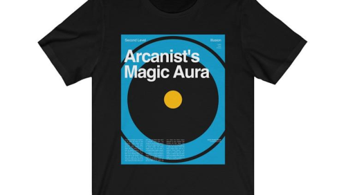D&D Spells Take Form as Shirts, Posters, and Mugs