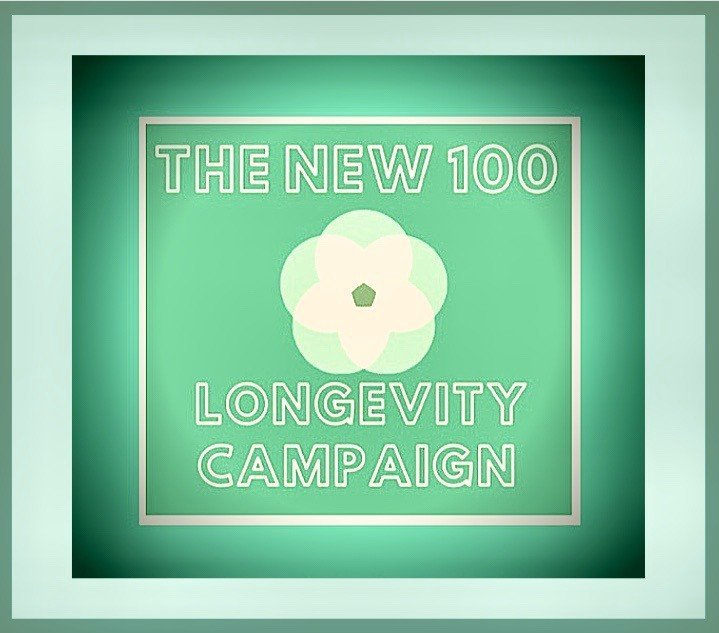 THE NEW 100 LONGEVITY CAMPAIGN HOSTED BY LINDA COOPER