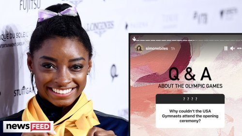 Simone Biles REVEALS Why She Skipped The Olympic Opening Ceremony